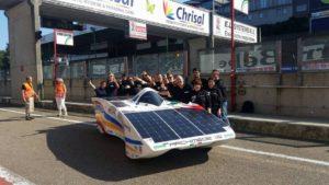 Solar car, Belgio, iESC2016, freni, dischi, faults, batteria, motore, EV, budget, Zolder, team, endurance, tecniche, cinetica