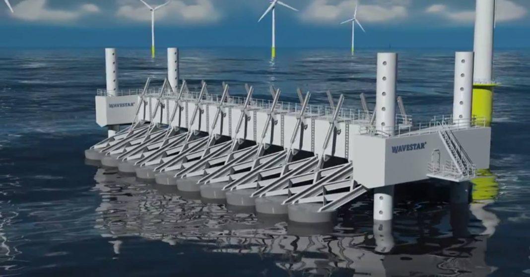 energia, mare, ambiente, onde, oceano, danimarca, mare del nord, Denmark, sea, waves, wavestar, vento, eolico, tecnologia, close-up engineering